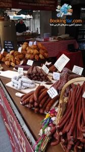 انواع سوسیس و پیراشکی | فستیوال غذا در لندن