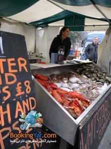 بخش محصولات دریایی | فستیوال غذا در لندن