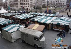 نمایی از محل برگزاری فستیوال | فستیوال غذا در لندن