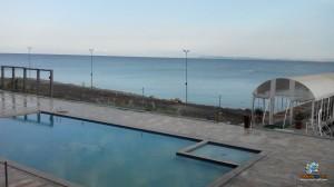 نمایی از دریاچه وان